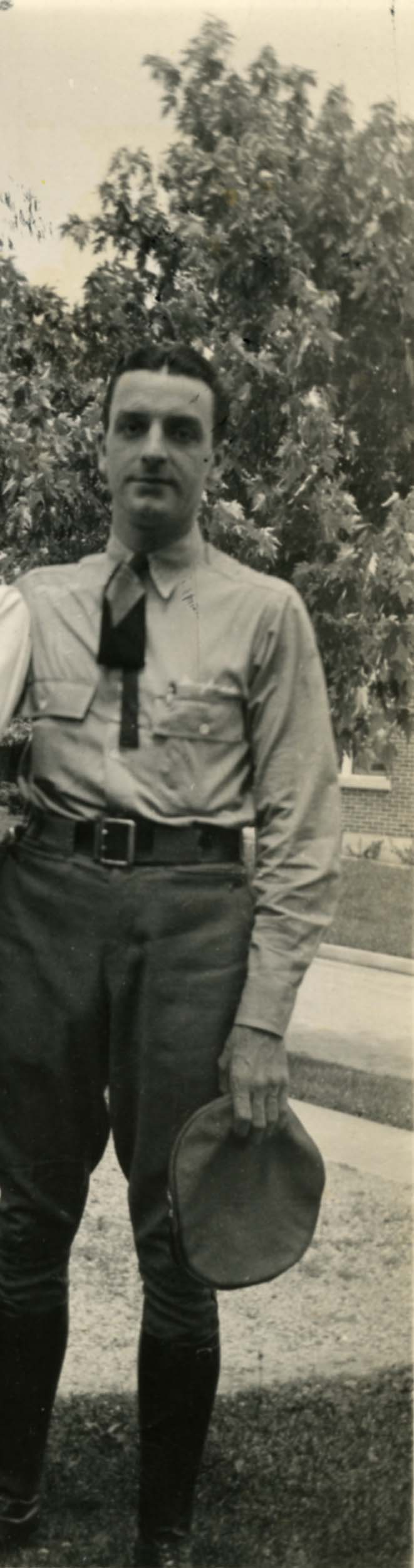 Howard in uniform