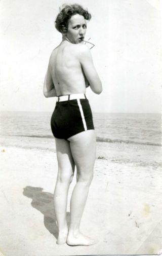 Aunt Gene topless