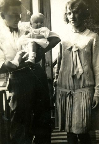 Lydia and Howard with Doris