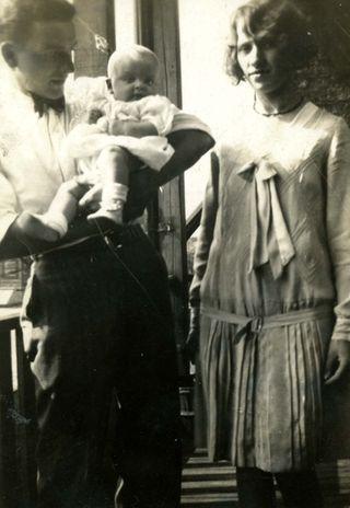 Lydia and Howard with Doris