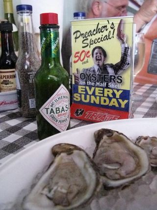 Oysters on sunday
