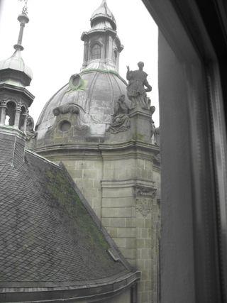 Olomouc hotel window