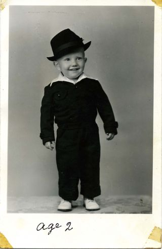 Jackie Dean Age 2
