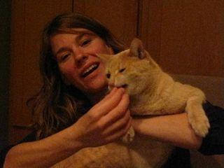 Jessica feeds Murphy