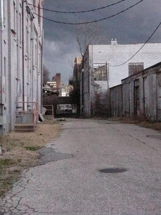 Memphis alley storm