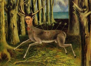 Frida_kahlo_the_little_deer_1946
