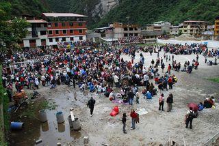 Stranded in Machu Picchu
