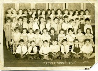 1930s class picture