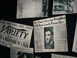 Elvis doesn't have wickedness