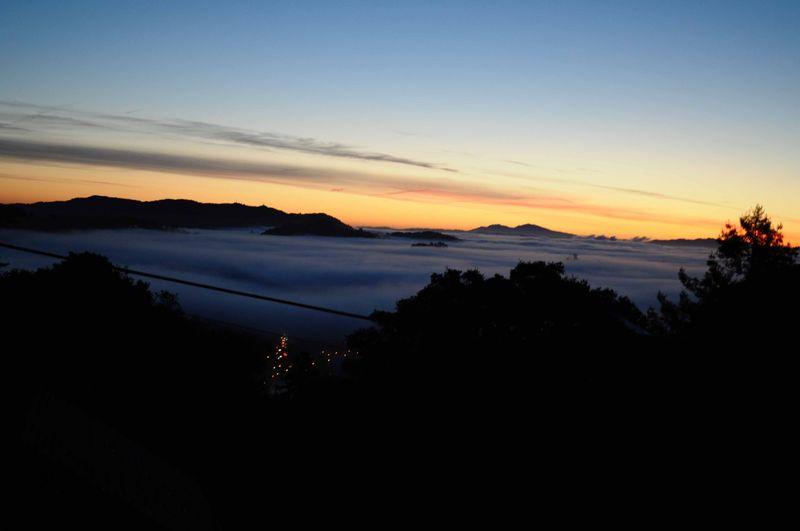 Sunrise in Fairfax