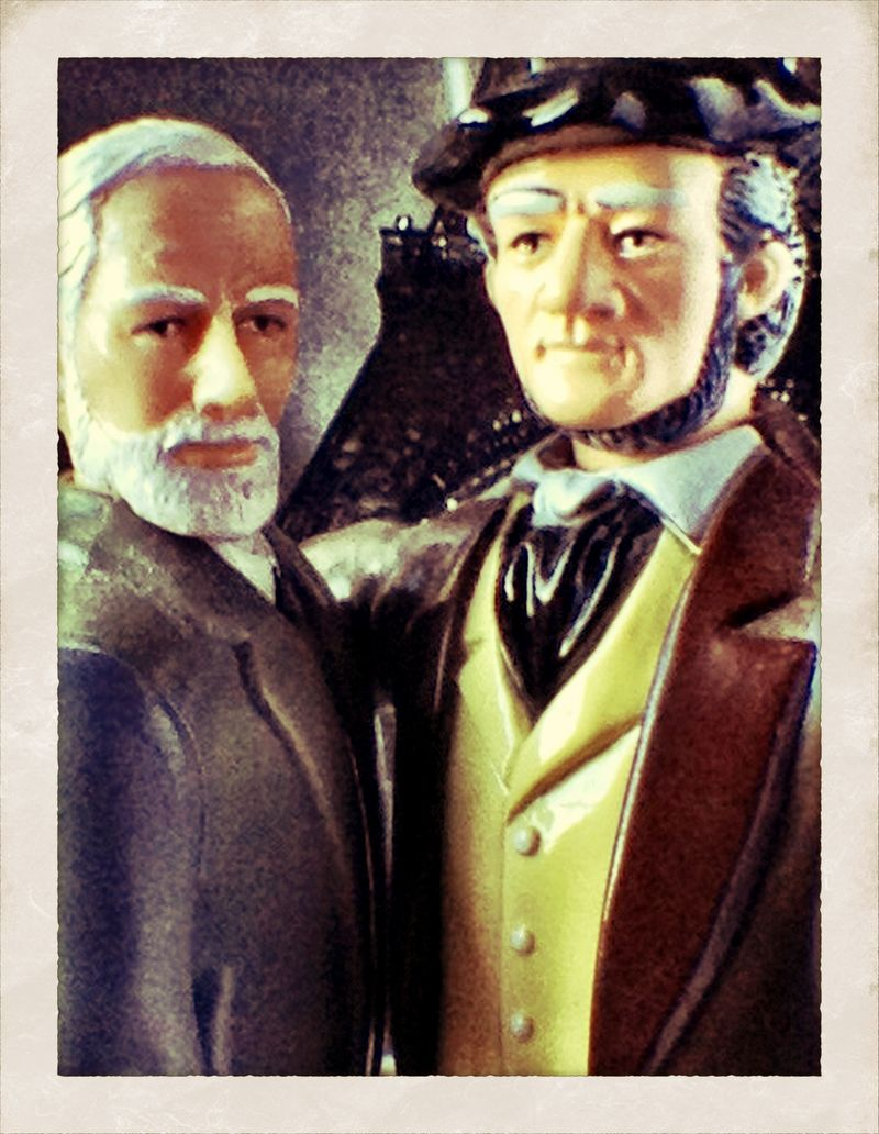 Freud and Wagner color