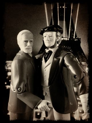 Freud and wagner Eiffel grope