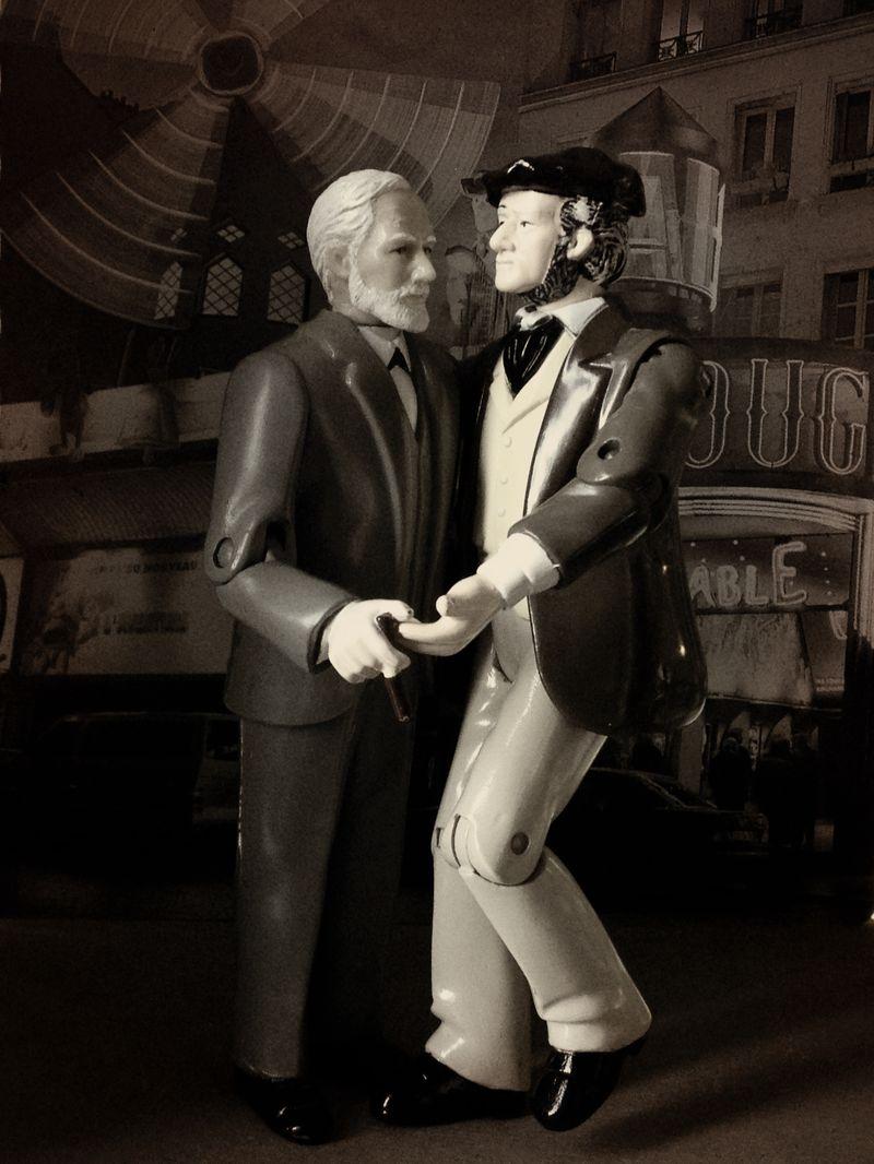Freud Wagner dance Monmartre